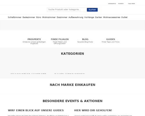 Online-Shop vonDänisches Bettenlager