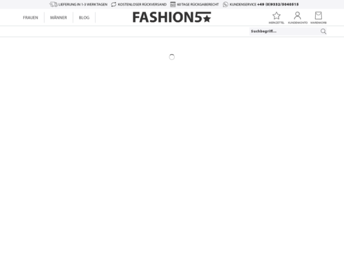 Online-Shop vonFashion5